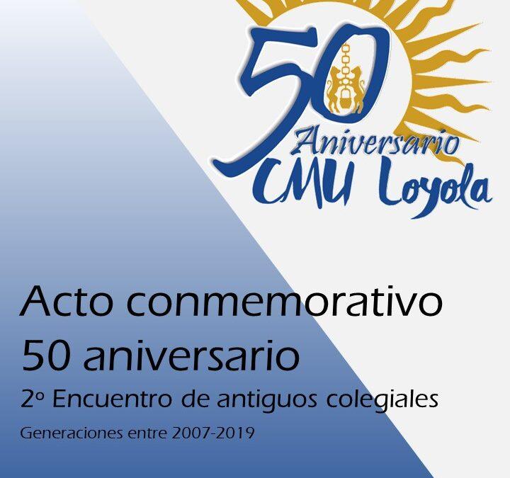 Acto conmemorativo 50 aniversario