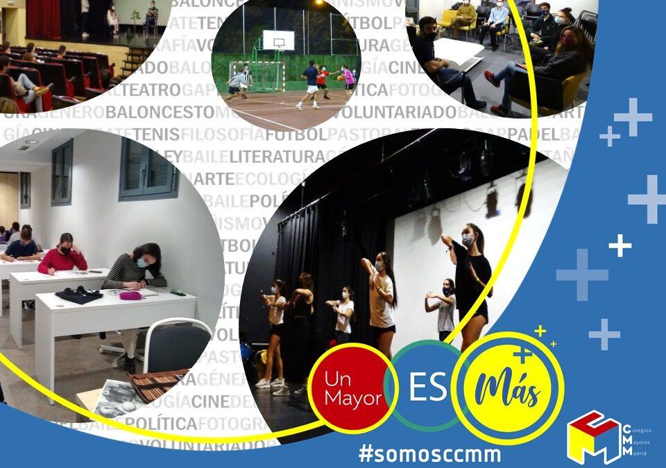 Elige tu hogar ¡Elige Colegios Mayores de Madrid!